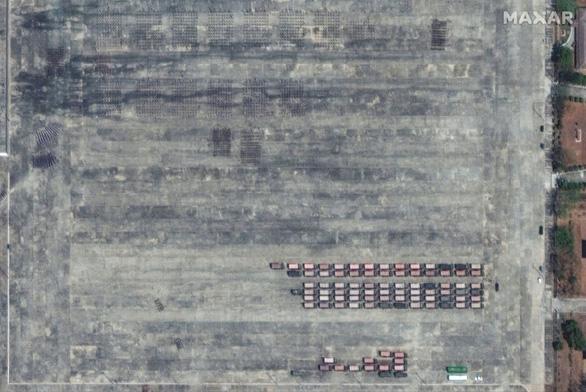 Biểu tình phản đối đảo chính ở Myanmar nhìn từ ảnh vệ tinh - Ảnh 5.