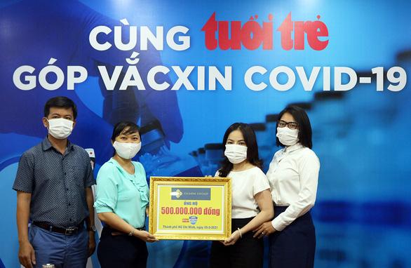 Hơn 6 tỉ đồng cho Cùng Tuổi Trẻ góp vắc xin COVID-19 - Ảnh 1.