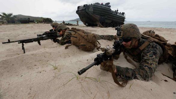 Quân đội Mỹ chuẩn bị gì cho chiến tranh với Trung Quốc? - Ảnh 1.