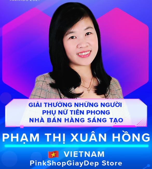 Một nhà nữ bán hàng online của Việt Nam được tôn vinh trong khu vực - Ảnh 1.