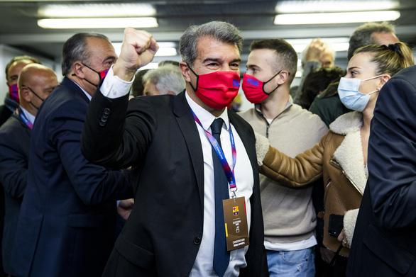 Joan Laporta trở lại làm chủ tịch Barcelona - Ảnh 1.