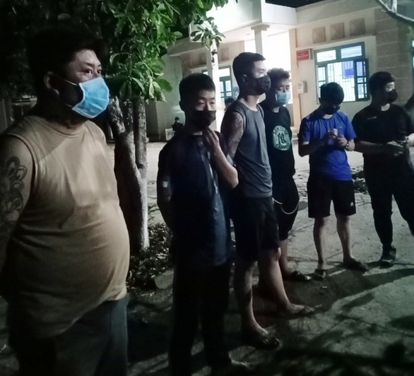 Bình Phước bắt 9 người Trung Quốc nhập cảnh trái phép cố vượt biên sang Campuchia - Ảnh 1.