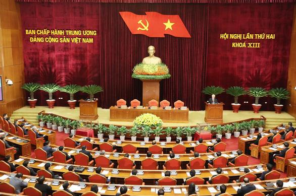 Bế mạc Hội nghị Trung ương 2: Kiện toàn các chức danh lãnh đạo cơ quan nhà nước - Ảnh 1.