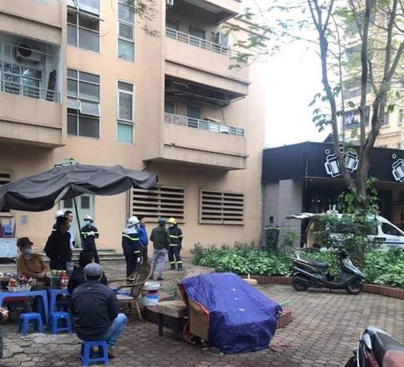 Hà Nội: Rơi từ tầng 9 chung cư, một nữ sinh tử vong - Ảnh 2.