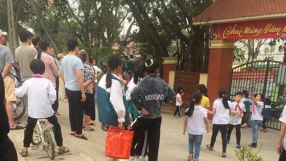 Hà Nội: Học sinh lớp 9 đâm chết nam sinh lớp 8 trong giờ ra chơi - Ảnh 1.