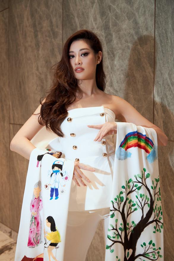 Khánh Vân đưa dự án bảo vệ trẻ em bị xâm hại đến Miss Universe - Ảnh 3.