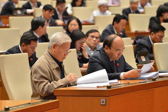 Ông Nguyễn Xuân Phúc thực hiện nhiệm vụ, quyền hạn Thủ tướng đến khi bầu được Thủ tướng mới - Ảnh 1.