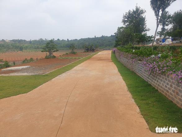 Vụ phá rừng phòng hộ xây khu nghỉ dưỡng ở Đắk Nông: Huyện hứa làm quyết liệt - Ảnh 3.