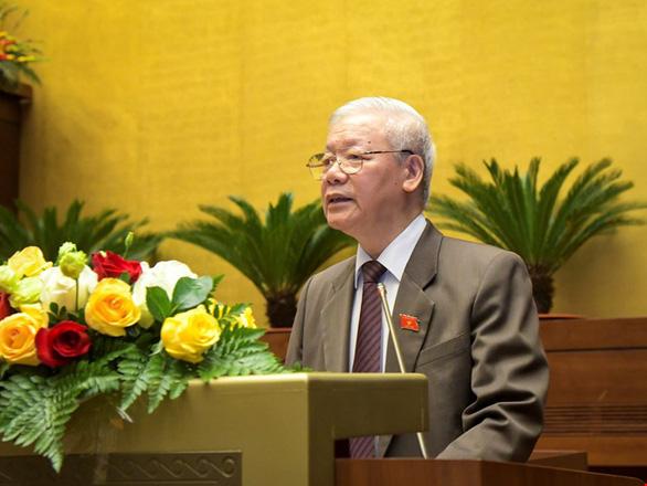 Ông Nguyễn Xuân Phúc thực hiện nhiệm vụ, quyền hạn Thủ tướng đến khi bầu được Thủ tướng mới - Ảnh 3.