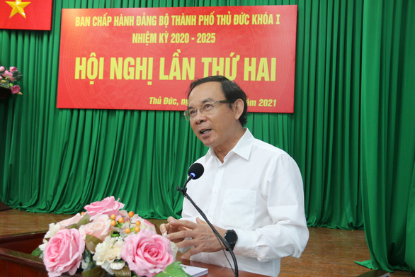 Bí thư Nguyễn Văn Nên yêu cầu sớm thống kê nhà đất công ở TP Thủ Đức để có kế hoạch sử dụng - Ảnh 1.