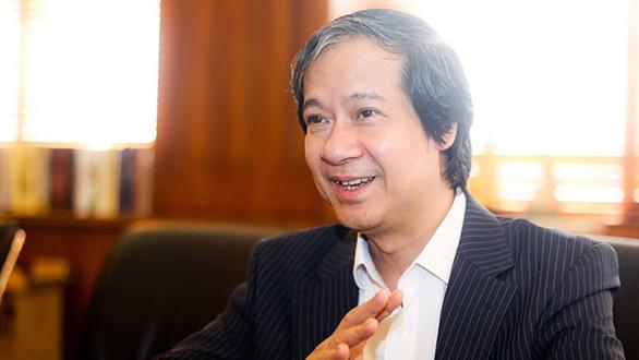 Bộ trưởng Nguyễn Kim Sơn: Sẽ có kế hoạch cụ thể cho 'Học thật, thi thật, nhân tài thật' - Ảnh 1.