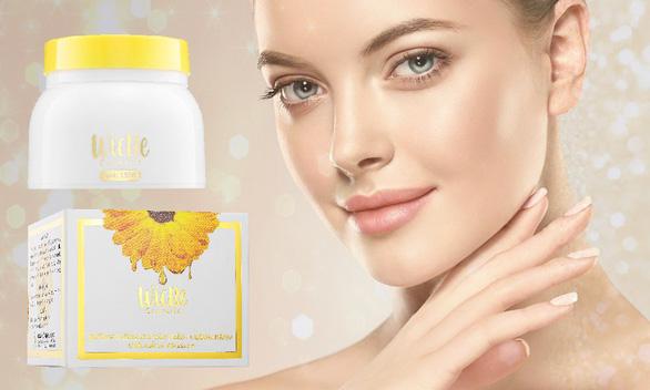 Sở hữu làn da trắng sáng với kem dưỡng trắng da toàn thân, chống nắng Wicbe - Ảnh 1.