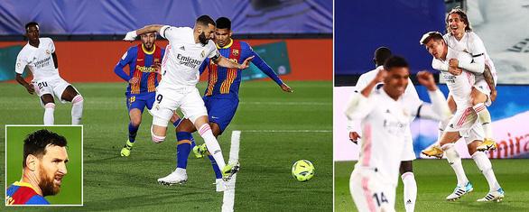 Barca lại bại trận trước Real Madrid - Ảnh 1.