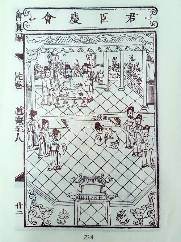 Hội chân biên ghi việc thần tiên hóa vua Lê Thánh Tông - Ảnh 2.