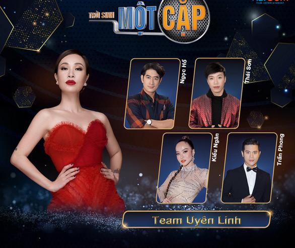 Uyên Linh tham gia gameshow Trời sinh một cặp - Ảnh 1.
