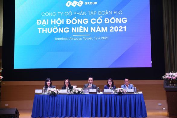 Đại hội cổ đông FLC 2021: Tri ân lớn cho cổ đông, đặt mục tiêu lãi gấp 3 lần năm 2020 - Ảnh 1.
