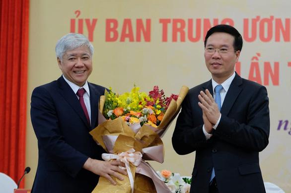 Ông Đỗ Văn Chiến giữ chức Chủ tịch Ủy ban Trung ương Mặt trận Tổ quốc Việt Nam - Ảnh 1.