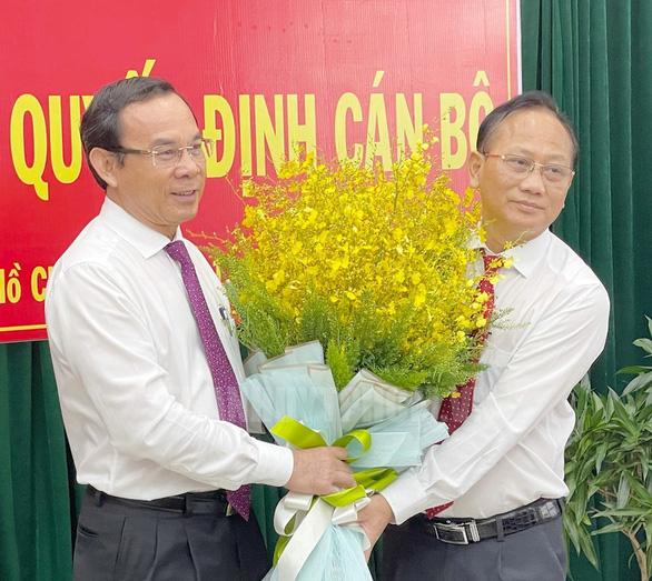 Ông Trần Văn Nam làm bí thư Huyện ủy Bình Chánh - Ảnh 1.