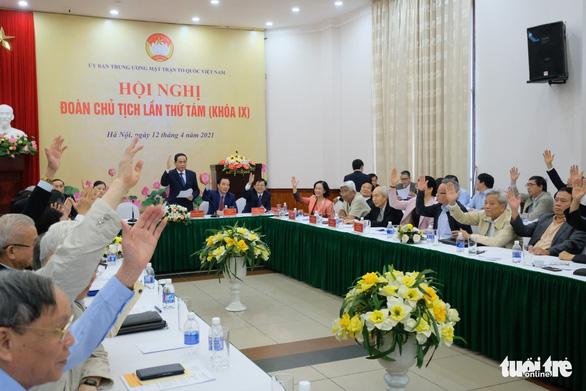 Ông Đỗ Văn Chiến giữ chức Chủ tịch Ủy ban Trung ương Mặt trận Tổ quốc Việt Nam - Ảnh 2.