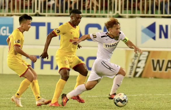 Vòng 9 V-League 2021: Cơ hội sớm vào top 6 cho HAGL - Ảnh 1.