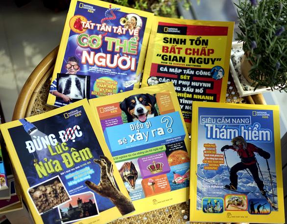 Bộ sách quốc tế đình đám National Geographic Kids ra phiên bản Việt - Ảnh 1.