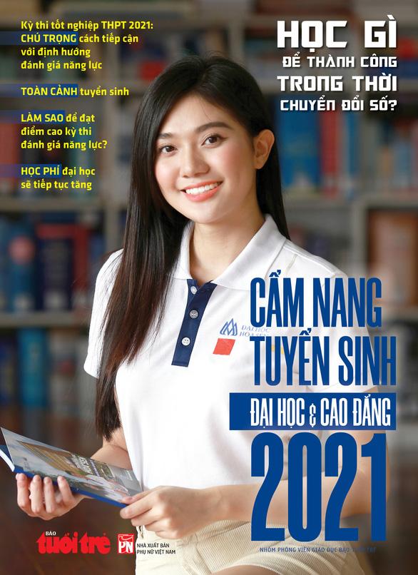 Sáng mai 14-4 phát hành Cẩm nang tuyển sinh đại học và cao đẳng 2021 - Ảnh 1.