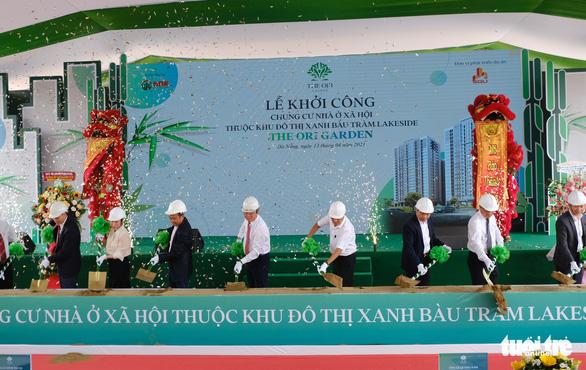 Khởi công dự án nhà ở xã hội gần 3.400 căn hộ tại Đà Nẵng - Ảnh 1.