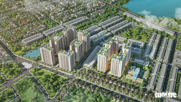 Khởi công dự án nhà ở xã hội gần 3.400 căn hộ tại Đà Nẵng - Ảnh 2.