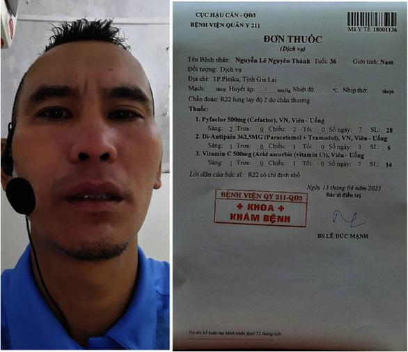 Đề nghị kỷ luật thủ môn húc gãy răng trọng tài Nguyễn Lê Nguyên Thành - Ảnh 2.