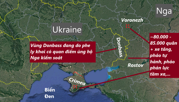 G7 tố Nga huy động quân đến biên giới với Ukraine mà không báo trước - Ảnh 3.