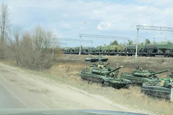 G7 tố Nga huy động quân đến biên giới với Ukraine mà không báo trước - Ảnh 1.