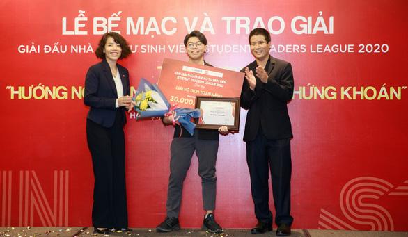 Chỉ 3 lần giao dịch, sinh viên Kinh tế quốc dân thắng Giải đấu Nhà đầu tư sinh viên - Ảnh 1.