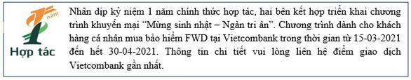 Vietcombank - FWD: thương vụ bancassurance nổi bật của năm 2020 - Ảnh 5.
