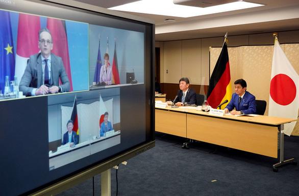 Nhật - Đức đối thoại an ninh, bàn tập trận đối phó Trung Quốc - Ảnh 1.