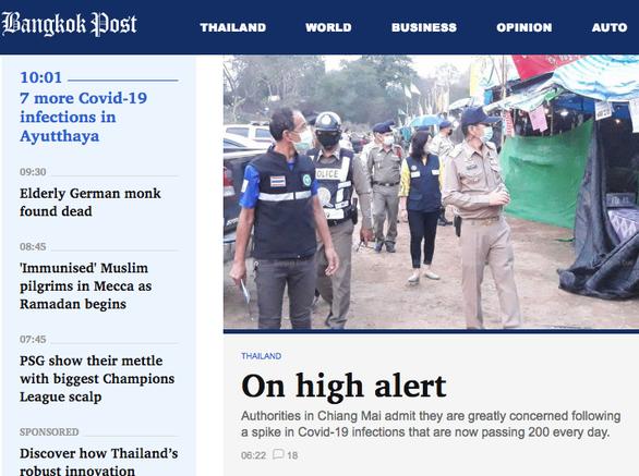 Thái Lan: 1.335 ca nhiễm mới trong ngày tết cổ truyền - Ảnh 3.