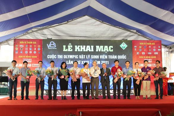 Hơn 200 sinh viên cả nước dự thi Olympic Vật lý toàn quốc - Ảnh 1.