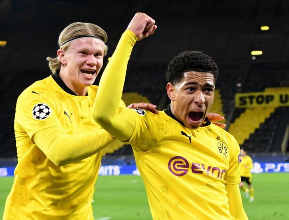Thắng ngược Dortmund, Man City vào bán kết Champions League - Ảnh 1.