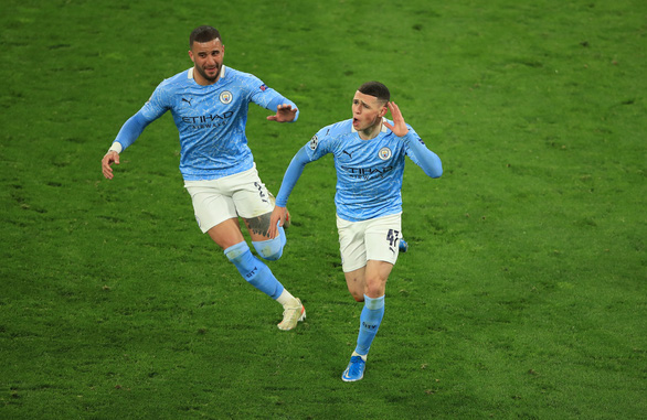 Thắng ngược Dortmund, Man City vào bán kết Champions League - Ảnh 3.