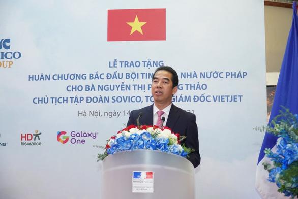Doanh nhân Nguyễn Thị Phương Thảo nhận Huân chương Bắc đẩu bội tinh - Ảnh 2.