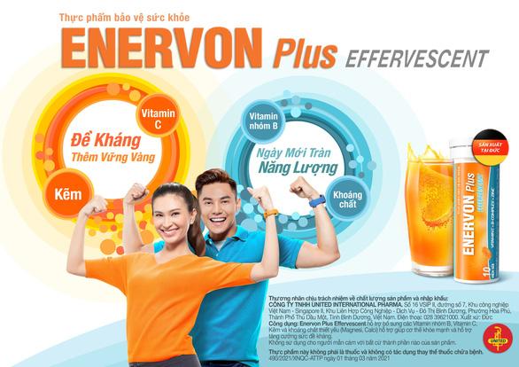Ra mắt sản phẩm viên sủi ENERVON Plus - Ảnh 1.