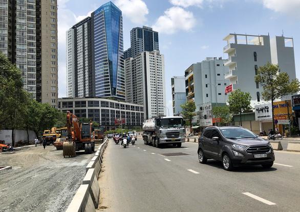 Khẩn trương thi công đưa đường Nguyễn Hữu Cảnh kịp cán đích dịp 30-4 - Ảnh 5.