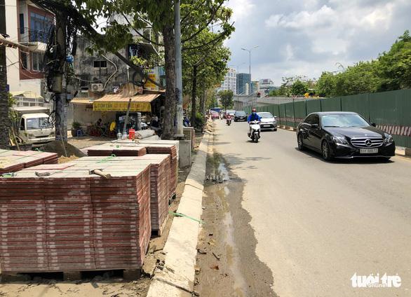 Khẩn trương thi công đưa đường Nguyễn Hữu Cảnh kịp cán đích dịp 30-4 - Ảnh 3.