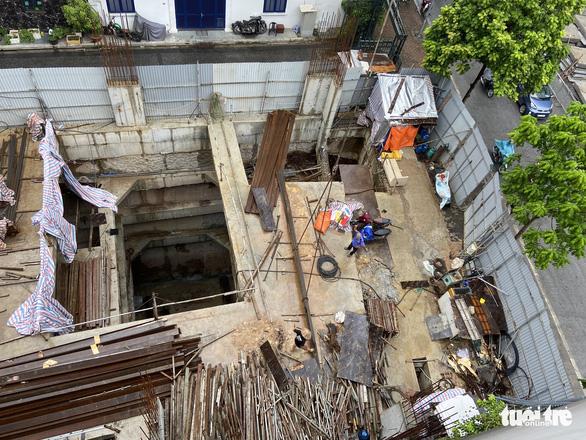 Thanh tra Chính phủ kiến nghị thanh tra ngôi nhà phố rất lạ khi có 4 tầng hầm - Ảnh 1.