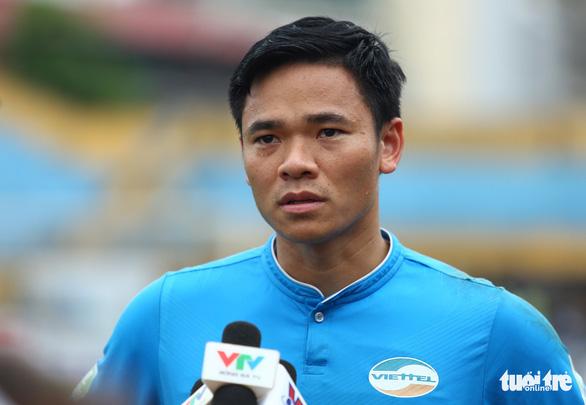 Thủ môn Nguyên Mạnh: Tôi mong HAGL hòa Hà Nội FC - Ảnh 1.
