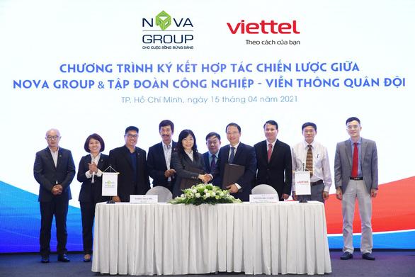 NovaGroup cùng Viettel hợp tác chiến lược trong chuyển đổi số - Ảnh 1.