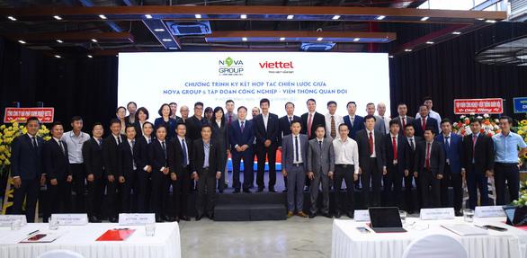 NovaGroup cùng Viettel hợp tác chiến lược trong chuyển đổi số - Ảnh 2.