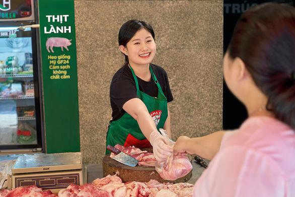 Đi chợ truyền thống vẫn có thể mua được thịt lành, ngon - Ảnh 2.