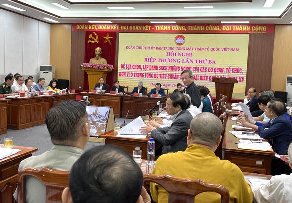 17 ủy viên Bộ Chính trị ứng cử đại biểu Quốc hội - Ảnh 1.