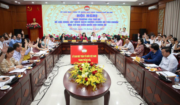 Hà Nội được tăng số ứng viên đại biểu Quốc hội lên 37 - Ảnh 1.
