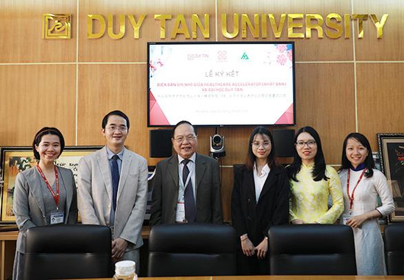 ĐH Duy Tân ký kết hợp tác và đưa sinh viên đi Nhật - Ảnh 2.